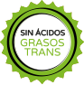 Sin ácidos grasos trans